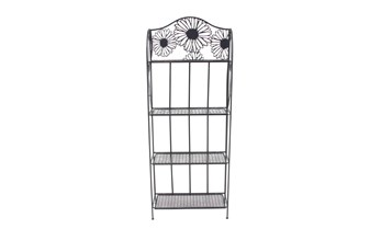 Cottage Black Bakers Rack