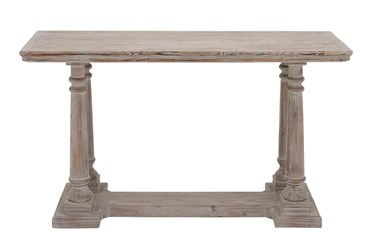 """Rustic Light Brown 52"""" Console Table"""