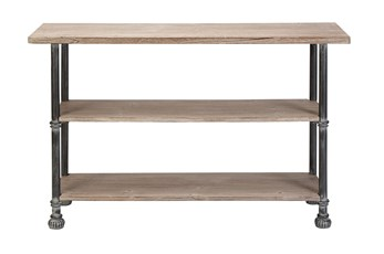 "Industrial 48"" Console Table"