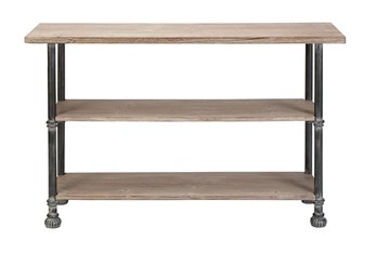 """Industrial 48"""" Console Table"""