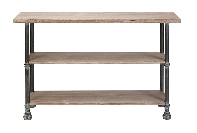 """Industrial 48"""" Console Table - 360"""