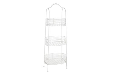 Farmhouse Basket Bakers Rack