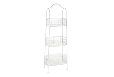 Farmhouse Basket Bakers Rack - Main
