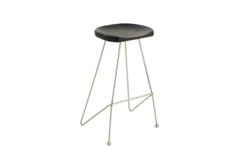 32 Inch Industrial Bar Stool