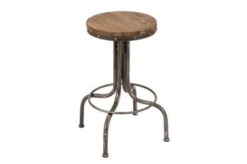 28 Inch Adjustable Bar Stool