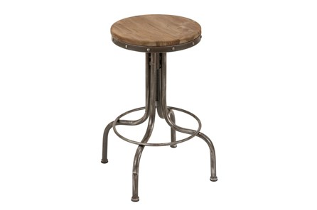 28 Inch Adjustable Bar Stool - Main
