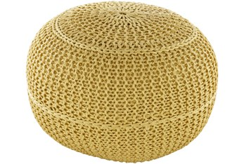 Pouf-Butter Knitted