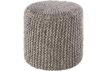 Pouf-Camel Knitted
