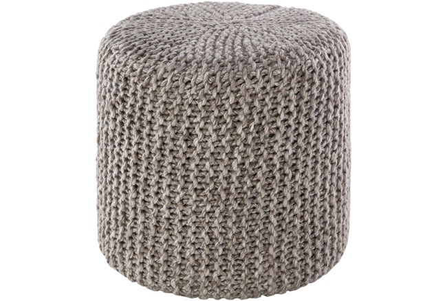 Pouf-Camel Knitted - 360
