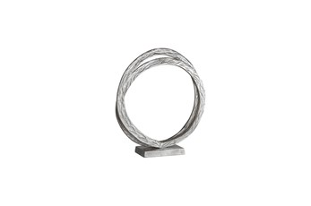 16 Inch Double Ring Sculpture