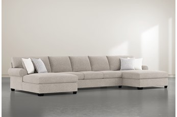 "Brody 3 Piece 170"" Sectional With Double Chaise"