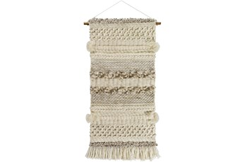 Wall Tapestry-Fringe Natural 24X53