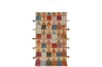 Wall Tapestry-Woven Multicolor 24X43