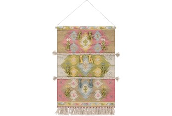 Wall Tapestry-Woven Bright Multicolor 24X36
