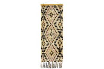Wall Tapestry-Diamond Black Camel 24X63