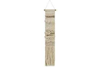 Wall Tapestry-Textured Natual Fringe 10X56