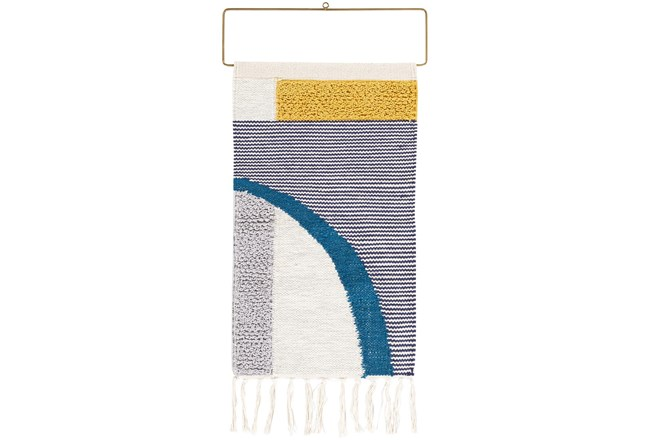 Wall Tapestry-Multicolor Abstract Fringe 16X26 - 360