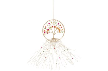 Wall Hanging-Macrame Tree Multicolor  11X26