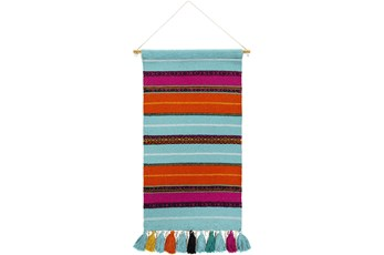 Wall Tapestry-Stripe Multicolor 18X36