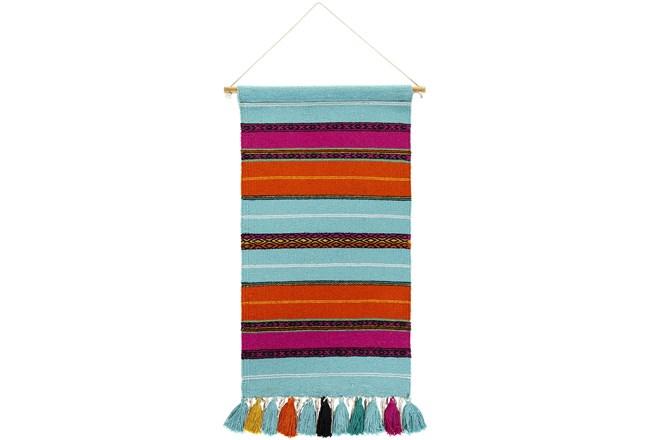 Wall Tapestry-Stripe Multicolor 18X36 - 360