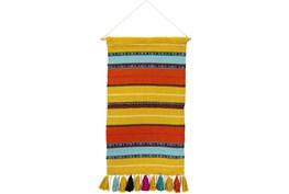 Wall Tapestry-Multicolor Stripe 18X36