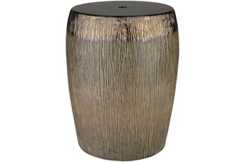 Outdoor Bronze Garden Stool
