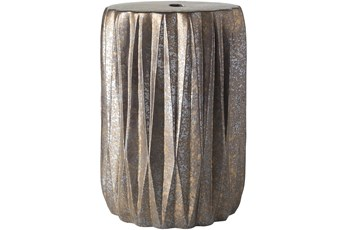 Outdoor Metallic Garden Stool