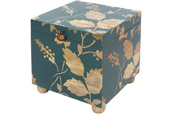 Bright Blue Storage Cube