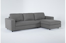 """Gemini 2 Piece 111"""" Sectional With Right Arm Facing Chaise"""