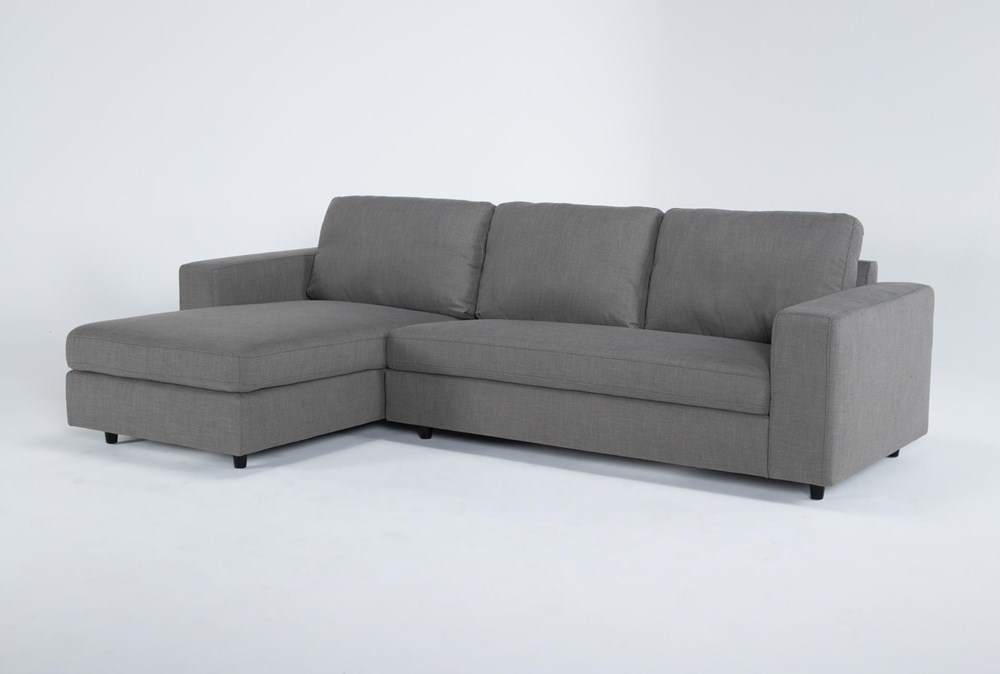 """Gemini 2 Piece 111"""" Sectional With Left Arm Facing Chaise"""