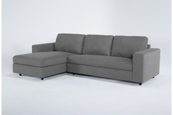"Gemini 2 Piece 111"" Sectional With Left Arm Facing Chaise"