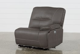 Marcus Grey Right Facing Power Recliner With Power Headrest And USB