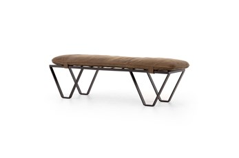 Darrow Bench-Umber Grey