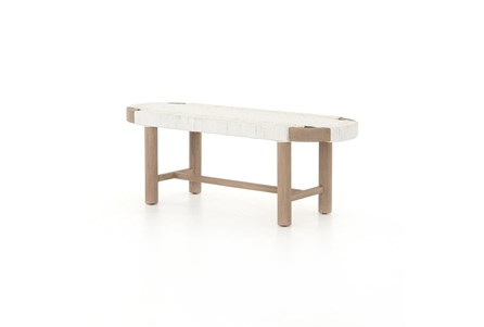 Summer Outdoor Bench-Washed Brown - Main