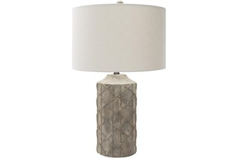 Table Lamp-Camel Hand Finished