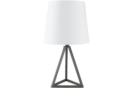 Table Lamp-Black Metal - Main