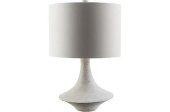 Table Lamp-Grey White Composition