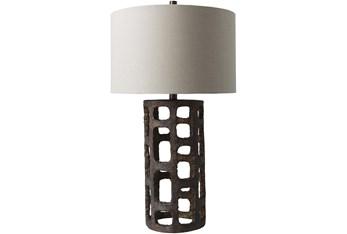 Table Lamp-Bronze Textured