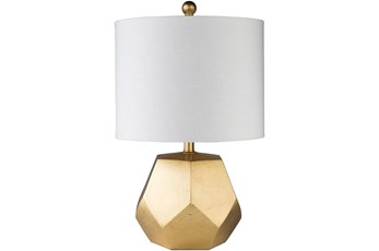 Table Lamp-Gold Gilded