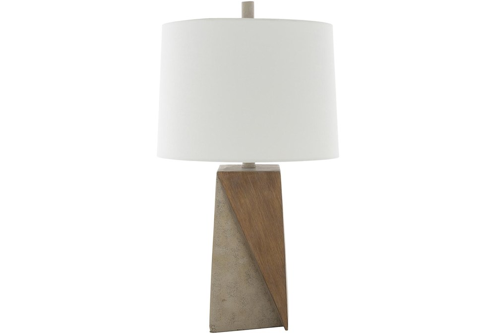 Table Lamp-Two Tone Concrete