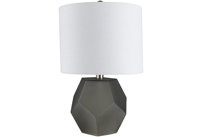Table Lamp-Geo Charcoal - 360