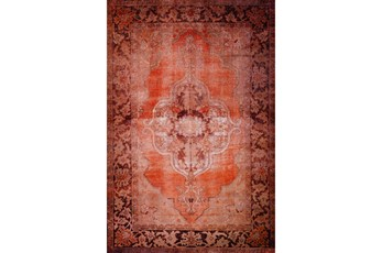 27X91 Runner Rug-Sterling Distressed Ginger