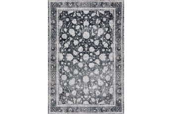 94X118 Rug-Sterling Distressed Midnight