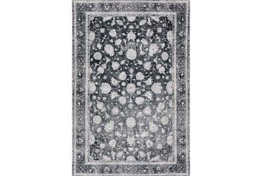 """7'8""""x9'8"""" Rug-Sterling Distressed Midnight"""