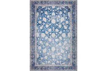 27X91 Runner Rug-Sterling Distressed Navy
