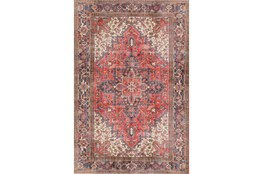 "5'x7'6"" Rug-Sterling Distressed Cardinal"