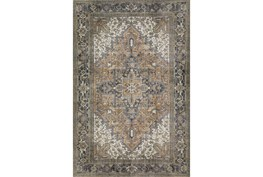 """1'7""""x2'5"""" Rug-Sterling Distressed Chocolate"""