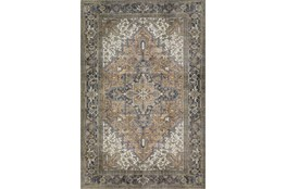 "5'x7'6"" Rug-Sterling Distressed Chocolate"