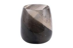 8 Inch Multicolor Brown Tone Vase