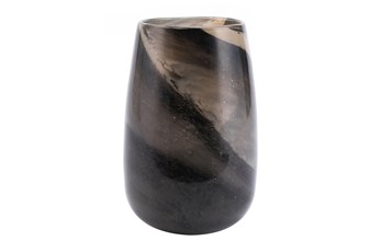 11 Inch Multicolor Brown Tone Vase